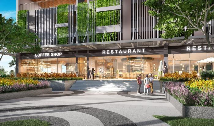 Nhà hàng dự án Opal Boulevard