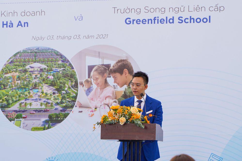 Lễ ký kết với Hệ thống giáo dục Greenfield School tại Gem Sky World